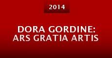 Dora Gordine: Ars Gratia Artis (2014)