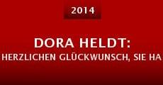 Película Dora Heldt: Herzlichen Glückwunsch, Sie haben gewonnen!