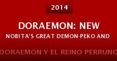 Película Doraemon: New Nobita's Great Demon-Peko and the Exploration Party of Five