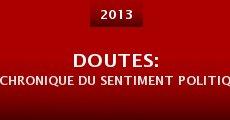 Doutes: Chronique du sentiment politique (2013)