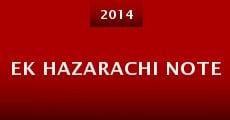 Ek Hazarachi Note (2014)