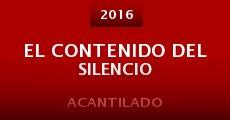 Película El contenido del silencio