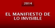 Película El manifiesto de lo invisible