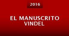 Película El manuscrito Vindel