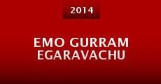 Película Emo Gurram Egaravachu