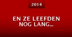 Película En Ze Leefden Nog Lang...
