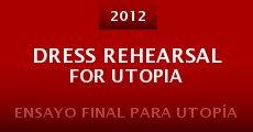 Ver película Ensayo final para Utopía