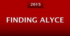 Película Finding Alyce