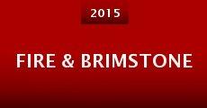 Película Fire & Brimstone