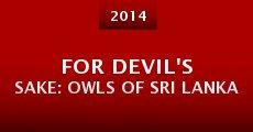 For Devil's Sake: Owls of Sri Lanka (2014) stream