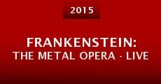 Película Frankenstein: The Metal Opera - Live