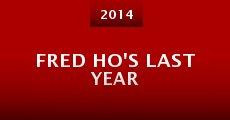 Película Fred Ho's Last Year