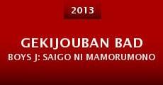 Gekijouban Bad Boys J: Saigo ni mamorumono (2013)