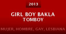 Película Girl boy bakla tomboy