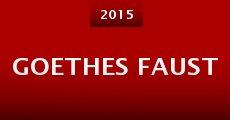 Película Goethes Faust