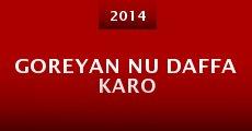 Película Goreyan Nu Daffa Karo