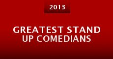 Película Greatest Stand Up Comedians