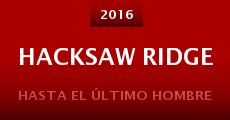 Hacksaw Ridge (2016) stream