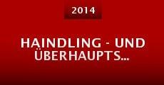 Haindling - und überhaupts... (2014) stream