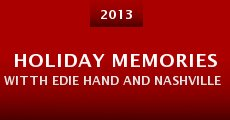 Película Holiday Memories Witth Edie Hand and Nashville Stars