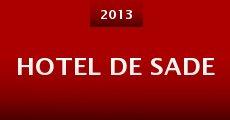 Hotel de Sade (2013) stream