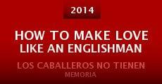 Película How to Make Love Like an Englishman