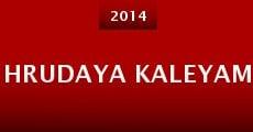 Hrudaya Kaleyam (2014) stream