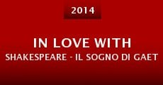 Película In Love with Shakespeare - Il sogno di Gaetano