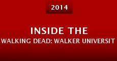 Inside the Walking Dead: Walker University (2014) stream