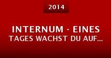 Internum - Eines Tages wachst Du auf... (2014)