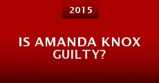Película Is Amanda Knox Guilty?