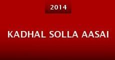 Película Kadhal Solla Aasai