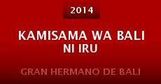 Película Kamisama wa Bali ni iru