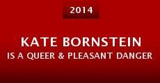 Película Kate Bornstein is a Queer & Pleasant Danger