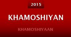 Película Khamoshiyan