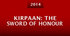 Película Kirpaan: The Sword of Honour