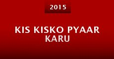 Película Kis Kisko Pyaar Karu