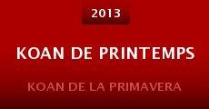 Koan de Printemps (2013)