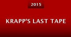 Película Krapp's Last Tape