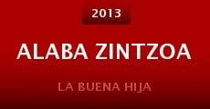 Alaba Zintzoa (2013) stream