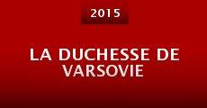 Película La duchesse de Varsovie