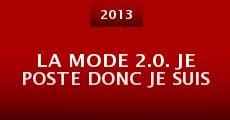 La mode 2.0. Je poste donc je suis (2013)