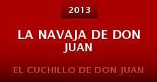 Película La navaja de Don Juan