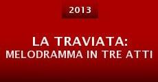 Película La traviata: Melodramma in tre atti