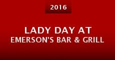 Película Lady Day at Emerson's Bar & Grill