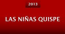 Las niñas Quispe (2013) stream