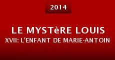 Película Le mystère Louis XVII: l'enfant de Marie-Antoinette est-il mort à la prison du temple?
