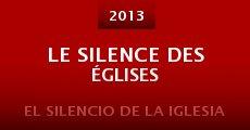 Película Le silence des églises