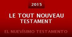 Película Le tout nouveau testament