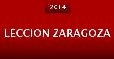 Leccion Zaragoza (2014) stream